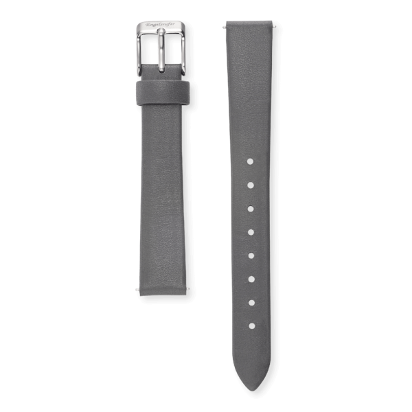 Engelsrufer watch band leather grey 14mm