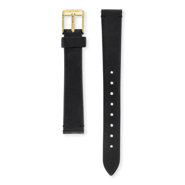 Engelsrufer watch band leather black 14mm