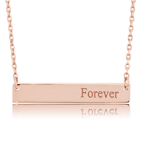 Nahu Love Letters Kette Forever Rosé plated