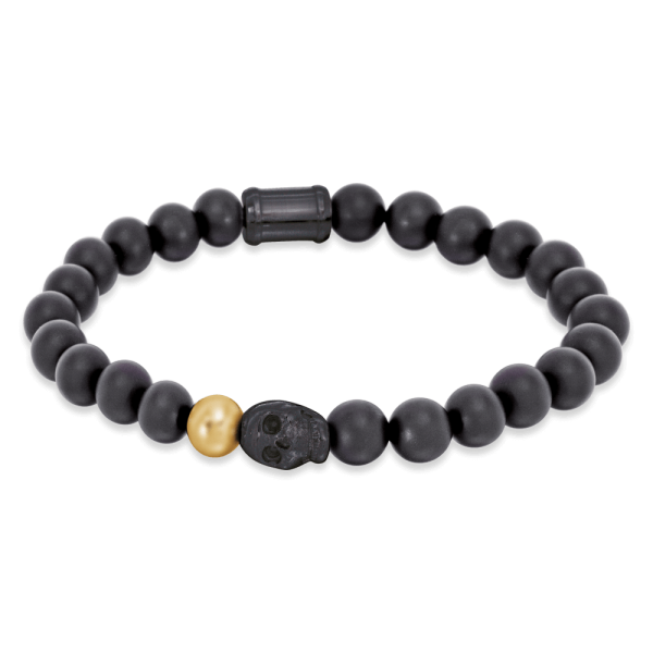 Save Brave onyx bracelet Owen gold