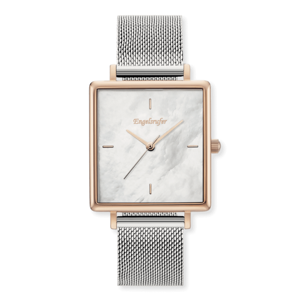 Engelsrufer watch Pearl / rose square