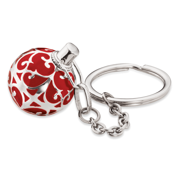 Engelsrufer key chain red