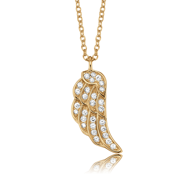 Engelsrufer necklace wing gold plated
