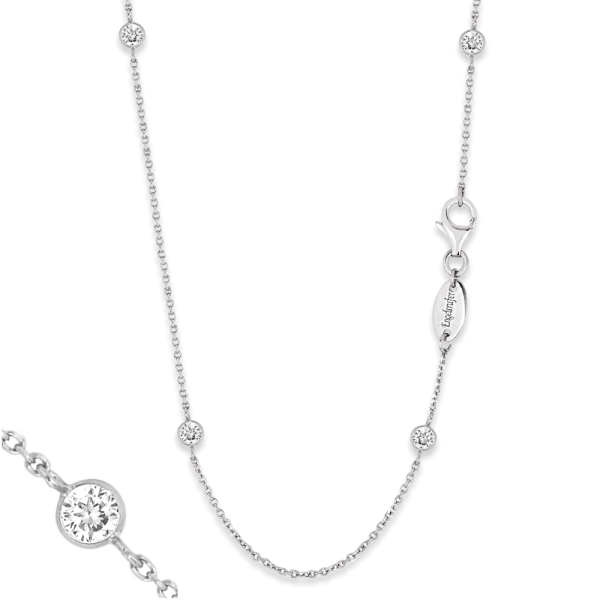 Engelsrufer necklace moonlight zirconia silver