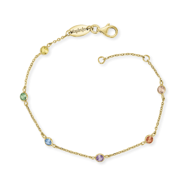 Engelsrufer Armband Moonlight Gold Multicolor