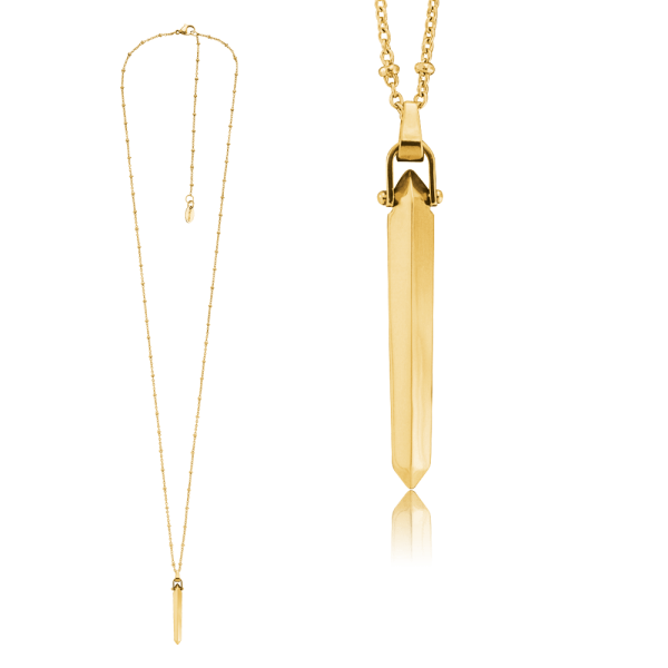 Nahu Kette New York Gold plated