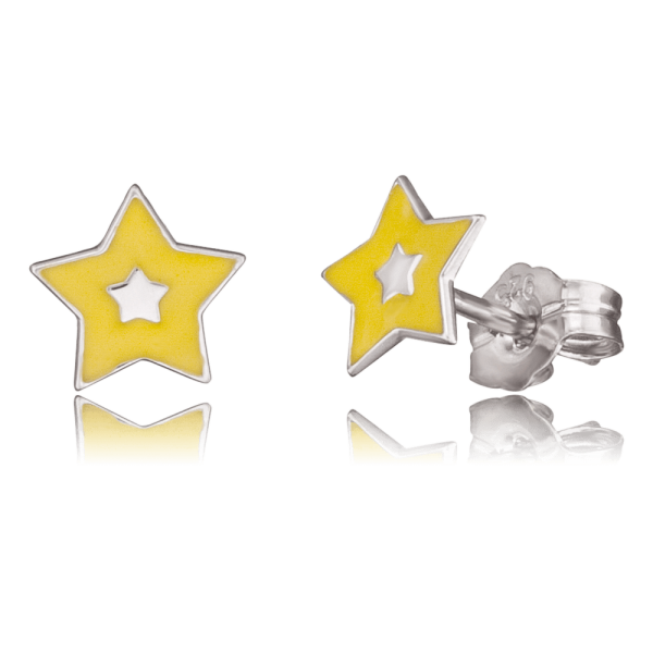 Herzengel ear studs star