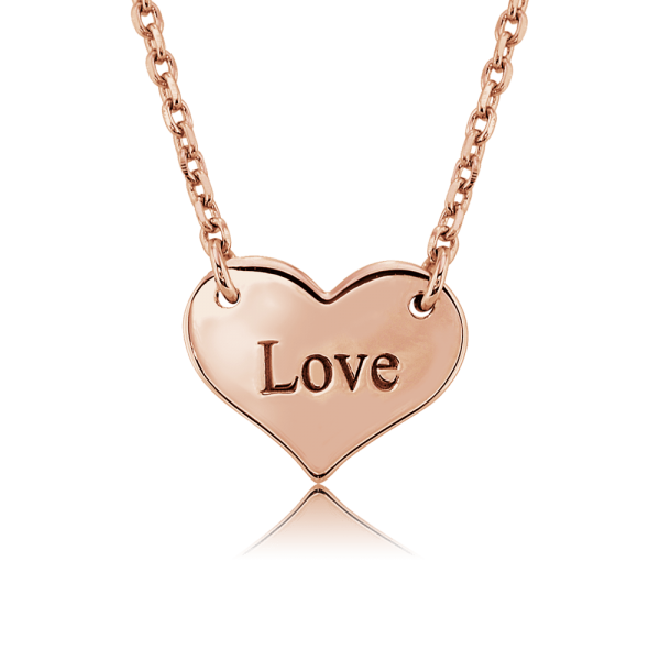 Nahu Love Letters Kette Love Rosé plated