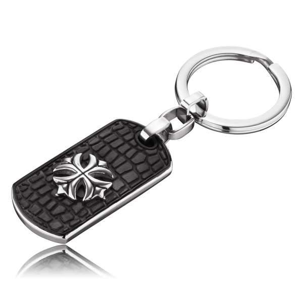 Save Brave Dog Tag key chain Peter
