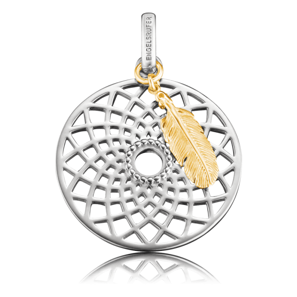 Engelsrufer pendant dreamcatcher gold plated