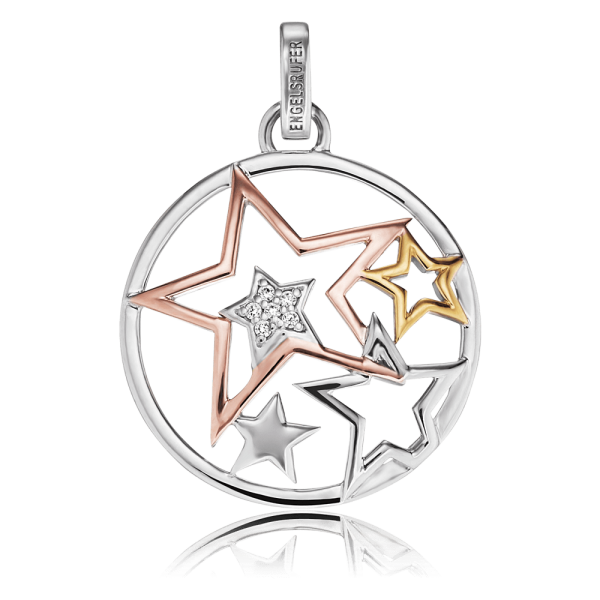 Engelsrufer necklace stars zirconia