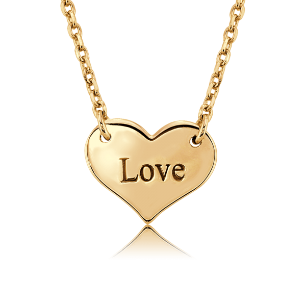 Nahu Love Letters Kette Love Gold plated