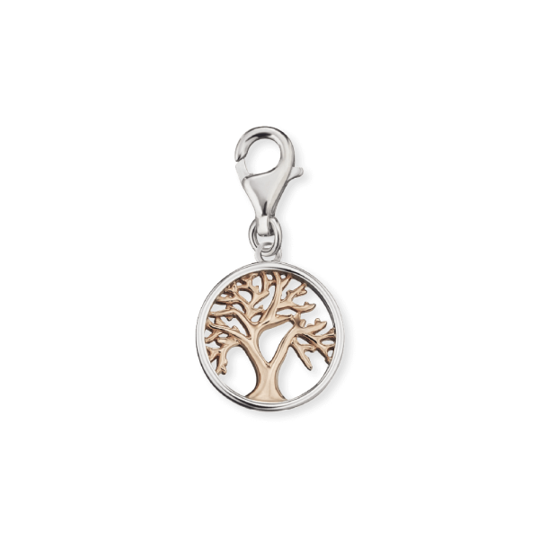 Engelsrufer charm tree of life bicolor
