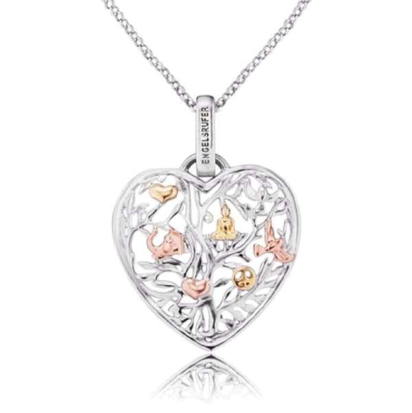Engelsrufer necklace tree of life heart