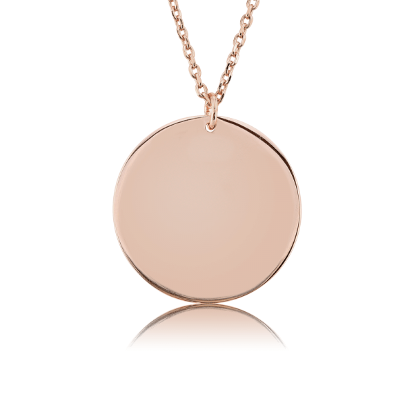 Nahu Love Letters Kette Rund Rosé plated