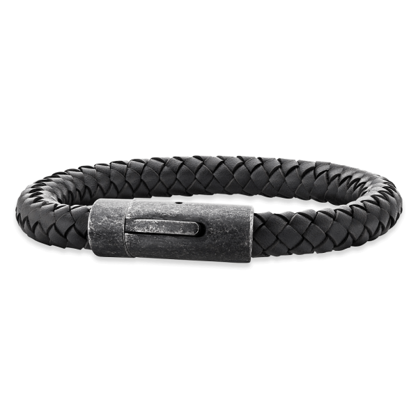 Save Brave leather bracelet Cooper