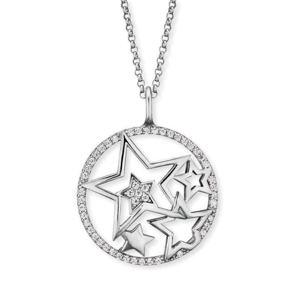 Engelsrufer necklace stars with zirconia