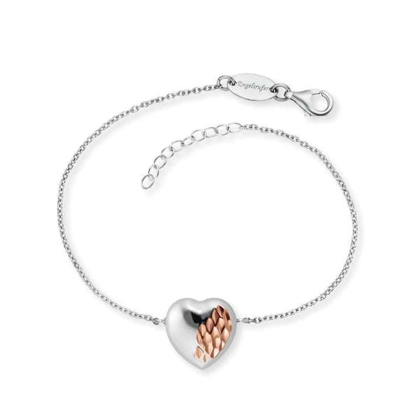 Engelsrufer Armband With Love Silber Bicolor