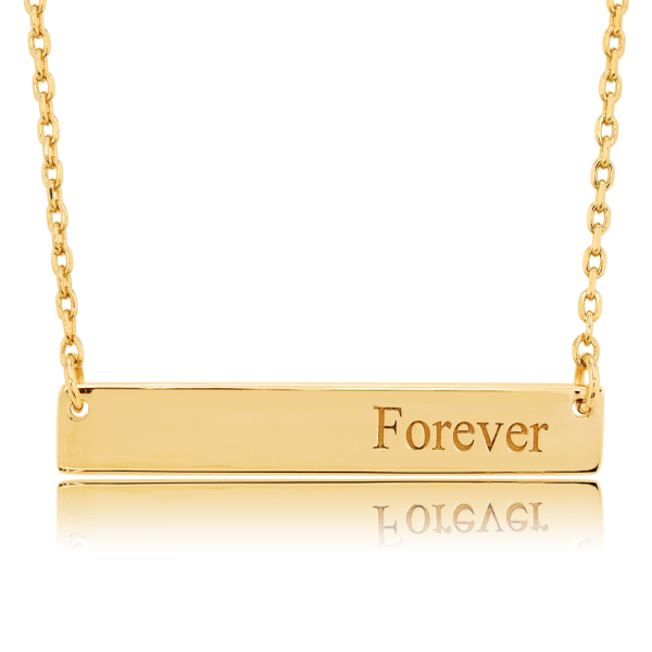 Nahu Love Letters Kette Forever Gold plated