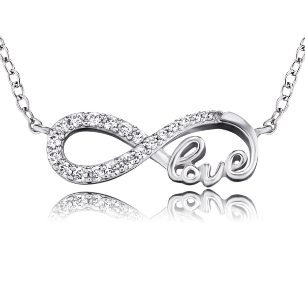 Engelsrufer necklace infinity love zirconia