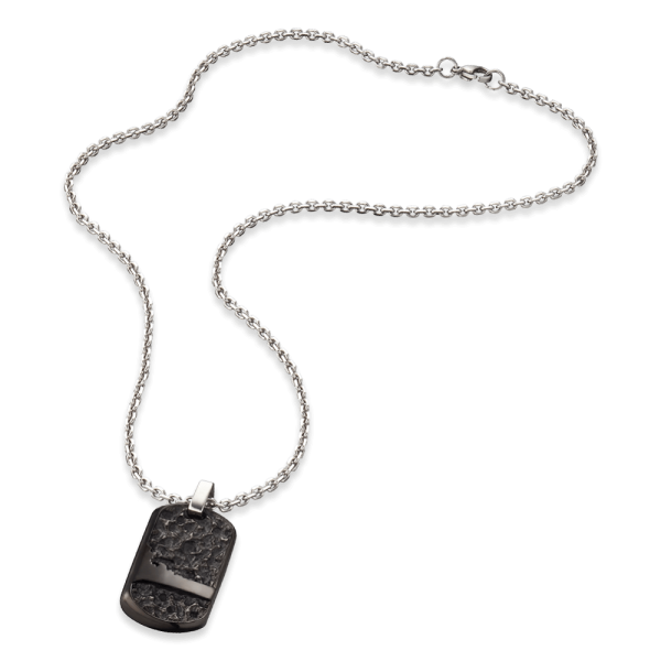 Save Brave Dog Tag necklace Tommy stainless steel