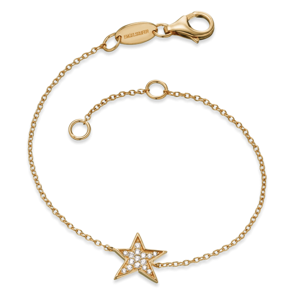 Engelsrufer Armband Stern Gold plated
