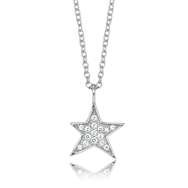Engelsrufer necklace star zirconia