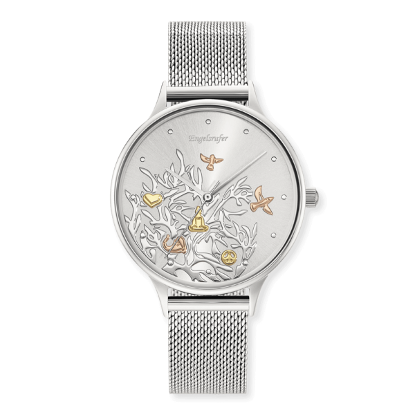 Engelsrufer watch Tree of Life silver