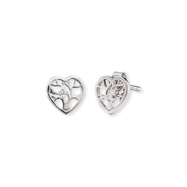 Herzengel ear studs tree of life heart