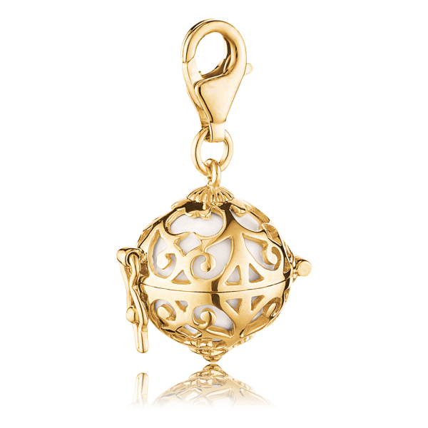 Engelsrufer Charm Gold plated