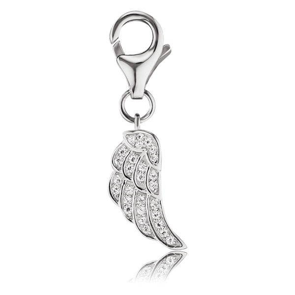 Engelsrufer charm wing zirconia
